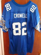 DETROIT LIONS youth XL football jersey Germane Crowell size 18-20 Puma nylon