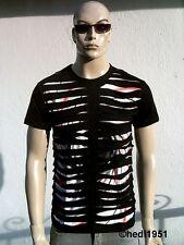 Ticila Airbrush Asia Yin Yang Japanese Club Star Destroyed Vintage T-Shirt G.S