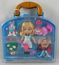 NEW Disney Store Animators' Alice in Wonderland Cheshire Mini Toy Doll Play Set