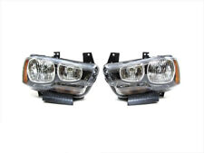2011-2014 Dodge Charger FRONT LEFT & RIGHT HEADLIGHT LAMPS SET OEM NEW MOPAR