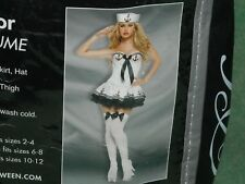 Halloween spirit Paris sailor adult costume quality garment M fits 6-8 79.99
