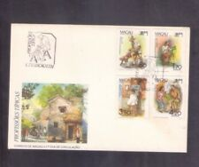 Macao Macau 1991 Professions Set on FDC