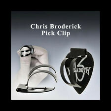 Chris Broderick Pick Clip - Thumb pick device holds any guitar pick! RIGHT HAND