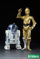 Kotobukiya ~ Star Wars ~ A New Hope ~ C-3P0 & R2-D2 ~ 2-Pack  ArtFx+ Statue 2011