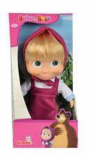 109306372 Masha y el oso 23cm cuerpo suave Masha muñeca juguete niñas niños mayores de 3+