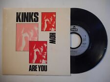 45t PORT 0€ ▓ THE KINKS : HOW ARE YOU / KILLING TIME