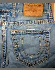 ORIGINALE True Religion used-Jeans Logan Super T Straight-cut W 33/34 L 30 Bobby