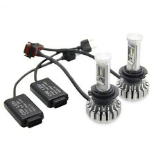 2X 252W 25200LM H7 LED Auto Scheinwerfer Lichter Birnen Kit 6000K Nachrüstsatz