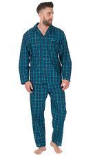 Mens Traditional Woven PJ Pyjama Night Wear PJ's Pyjamas Sets Gents Printed 3XL
