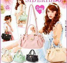 New Woman Bag Elegant Lady Sweet Lolita Vintage Kawaii Bowknot Handbag -A