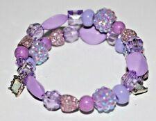 LAVENDER PURPLE beads ~ Handmade Beaded Wrap Bracelet ~ Perfect Gift!