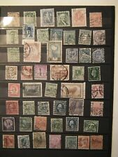 World perfin 49 stamps