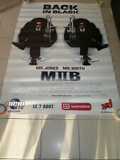 AFFICHE MEN IN BLACK 2 Will Smith 4x6 ft Bus Shelter Poster Original 2002