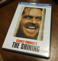 The Shining DVD STANLEY KUBRICK COLLECTION Jack Nicholson Shelley Duvall EUC