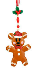 Disney Disneyland Paris Gingerbread Mickey Mouse Ornament Xmas Tree Decoration