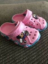 cute kids baby toddler water shoes with Mickey Mouse size 23 looks like 5-6