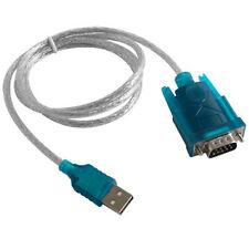 USB TO RS232 SERIAL DB 9 PIN COM Port Converter cable for GPS Windows XP WIN 7