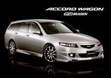 JDM Mugen Honda Accord Wagon Factory Brochure
