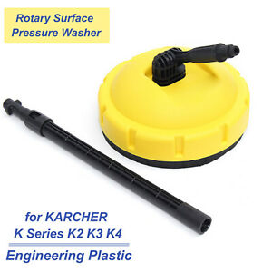 Pressure Washer Release Rotary Surface Patio Cleaner Attachment for KARCHER K