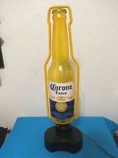 20� Corona Extra Beer Bottle Neon Style Bar Light Preowned