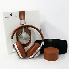 Master & Dynamic MW60 Wireless Premium Brown Leather Over-Ear Headphones