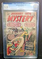 JOURNEY INTO MYSTERY #88 SECOND APPEARANCE LOKI Thor Stan Lee Jack Kirby CGC 1.5