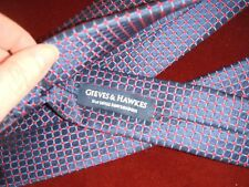 Men's Gieves and Hawkes All Silk Tie No 1 Savile Row London Handmade in England