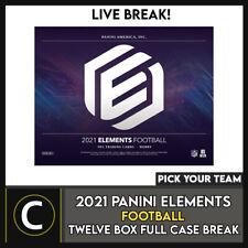 2021 PANINI ELEMENTS fútbol 12 Caja (completo Funda) romper #F788 - Elige Tu Equipo