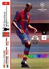 Panini liga de campeones 2007/2008 07 08 yaya cínico nº 93-FC Barcelona