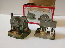 All In One Liberty Falls 1999 American Collection Hillside Farm & Cow Barn