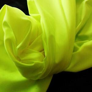 Dekostoff Dekostoffe UV-Stoff Schwarzlicht-Stoff Goa Psy Trance Fb. Neon-Gelb