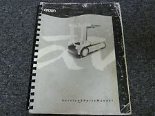 crown sc3200 series forklift service maintenance manual