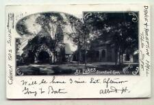 St. Lukes Stamford CONNECTICUT *A. R. Hart B/W EARLY 1904*
