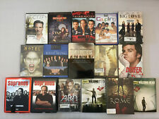 Gritty Tv Show Dvds Mad Men Dexter Band of Brothers Rome Walking Dead Lot of 16