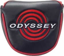 New Odyssey Japan Golf Putter Headcover Cover BACKSTRYKE 2018 Black with track