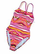 WOMENS NIKE Swim chlorine resistant ONE piece SWIMSUIT pink  size 14 / 40