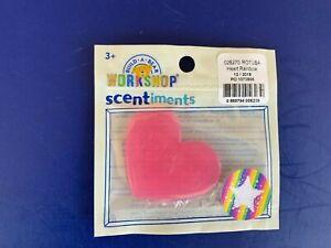 Build a Bear Teddy Bear Accessory - Heart Rainbow Scent Disc - New