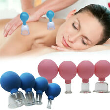 Anti Cellulite Massage Vacuum Suction Therapy Body Facial Cupping Cup for 4 Cups