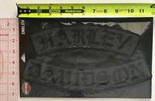 Harley Davidson Genuine Patch - Blackout Rockers 3X Set EM022757