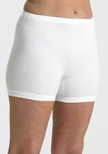 femmes unique taille 8-12 jambes courtes coton interlock CULOTTE SLIP Bloomers