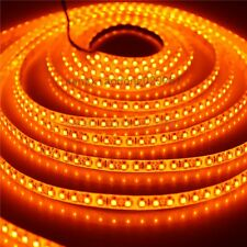 5M Orange 3528 led Strip Light Lamp 600 LED 120led/m Flexible Waterproof 12V