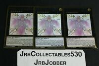 YuGiOh! BEATRICE LADY OF THE ETERNAL MAGO-EN035 1ST X3 MAXIMUM GOLD ULTRA RARE!