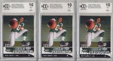 (3) 2009 Upper Deck #18 Mark Sanchez ROOKIE BECKETT 10 MINT NY Jets