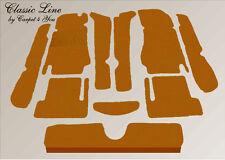 kompl. Teppich Satz Fiat 124 Spider Velour cognac