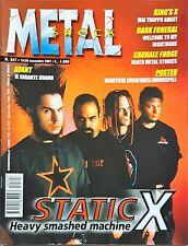 Metal Shock 347/2001 STATIC X KING'S X DARK FUNERAL CARNAL FORGE