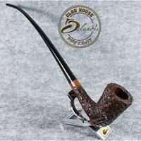 "EXCLUSIVE D.BALANDIS - HAND MADE LONG smoking pipe  "" GALHAR "" Churchwarden LOTR"