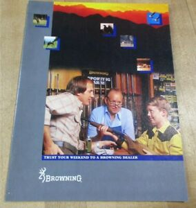 1983 Browning Catalog Trust Your Weekend to a Dealer. (w1)