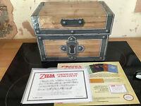LEGEND OF ZELDA EMPTY BOX GUIDE CHEST COA ZELDA BOX SET