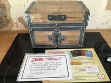 La leggenda di Zelda SCATOLA VUOTA guida sul petto COA Zelda Box Set