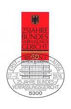 BRD 1976: Bundesverfassungsgericht Nr. 879 mit dem Bonner Sonderstempel 1A! 153